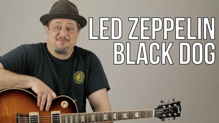"""How To Play Led Zeppelin """"Black Dog"""" on Guitar - Guitar Lesson - Les Paul"""