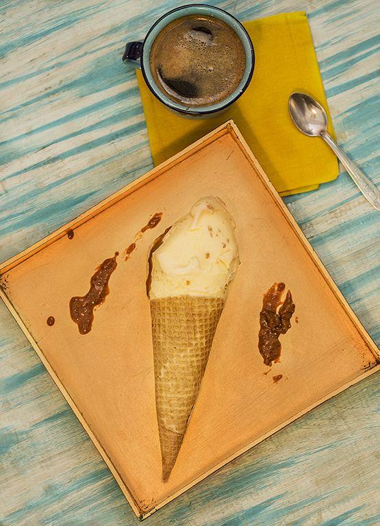 helado de creme brûlée en ORSO