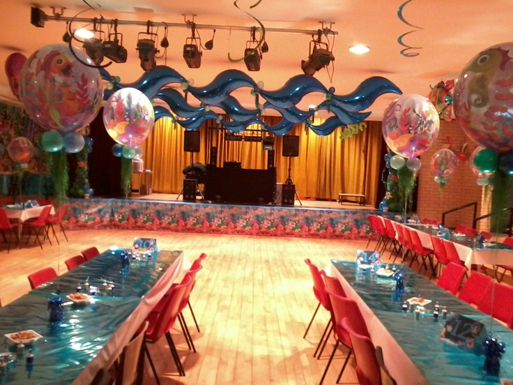 New Years Eve Under the Sea Balloon Decor Theme - think ...