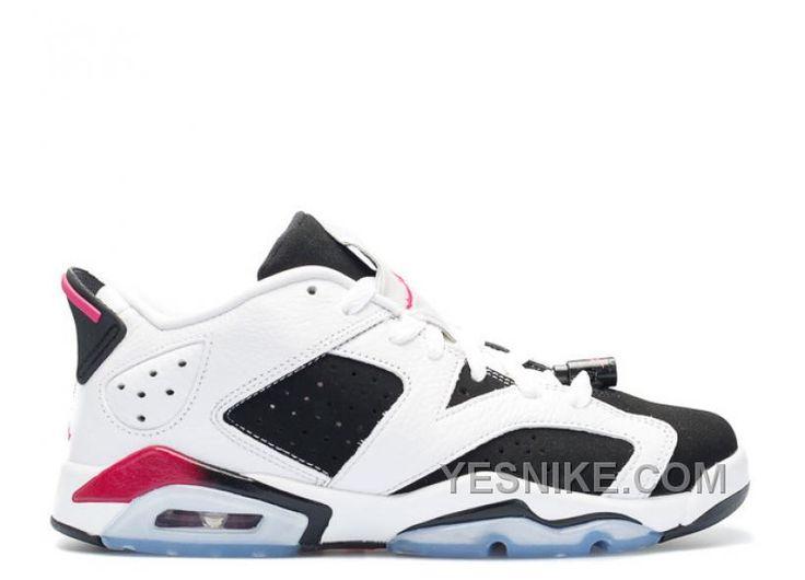 Air Jordan 6 Retro Low Gg Girls Fuchsia