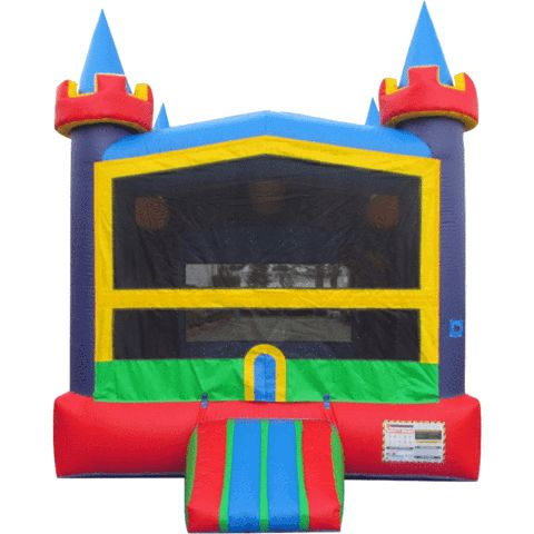 Pirate Commercial Bounce House Bouncer Slide Combo