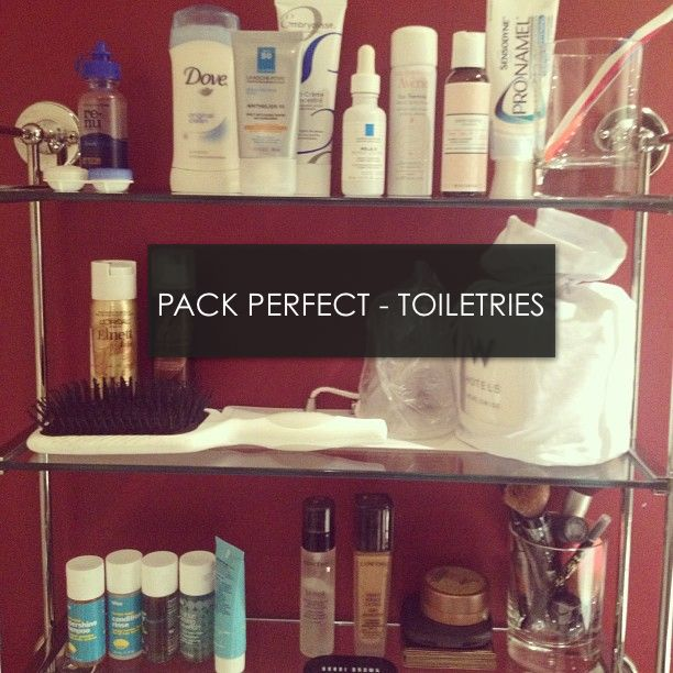 how to pack toiletries in carry on