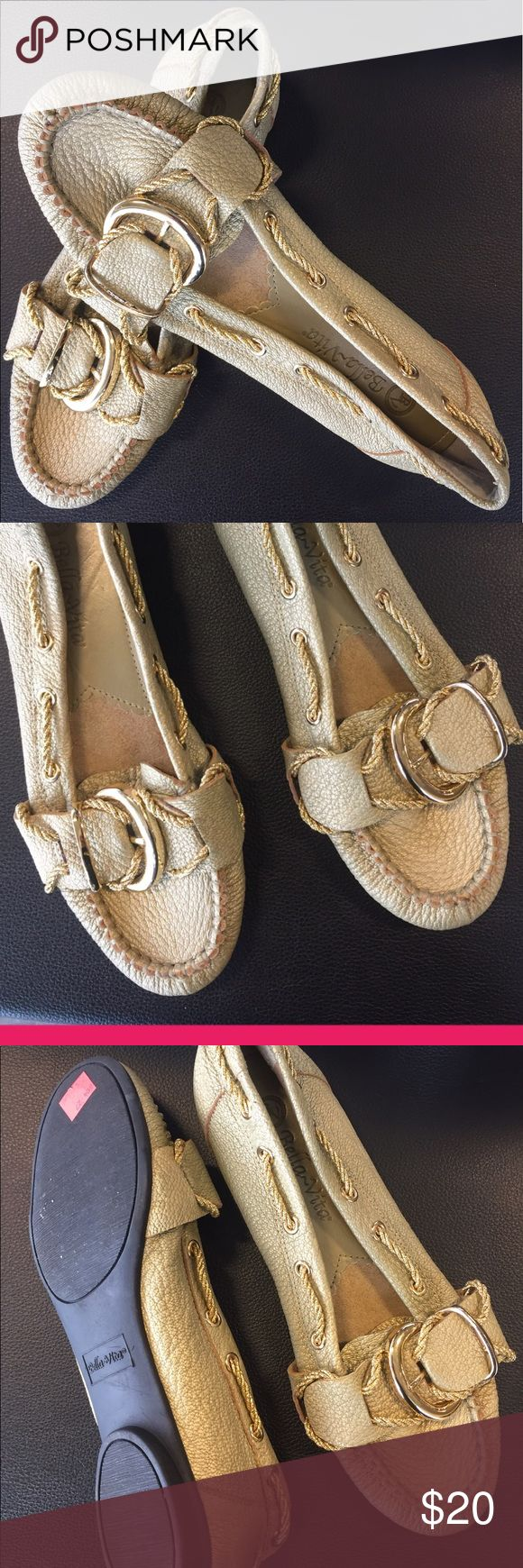 ✅$ 20 SALE✅BELLA VITA LOAFERS SIZE 7✅ ✅$ 20 SALE✅BELLA VITA LOAFERS SIZE 7✅WITH RUBBER SOLES FIR EXTRA COMFORT. WORN ONCE COLOR: GOLD TONE BELLA VITA Shoes Flats & Loafers