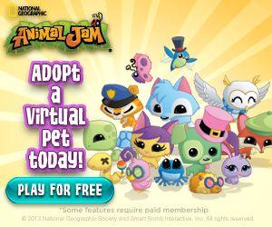FREE National Geographic Animal Jam Online Game! - Saving Dollars & Sense | Coupon & Review Blog
