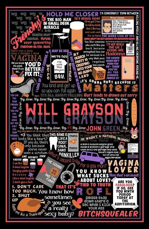 yasminwithane: POSTRAVAGANZA! Here are some John Green book...