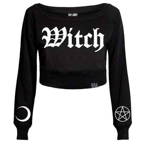 Witch Crop Sweater [B] | KILLSTAR