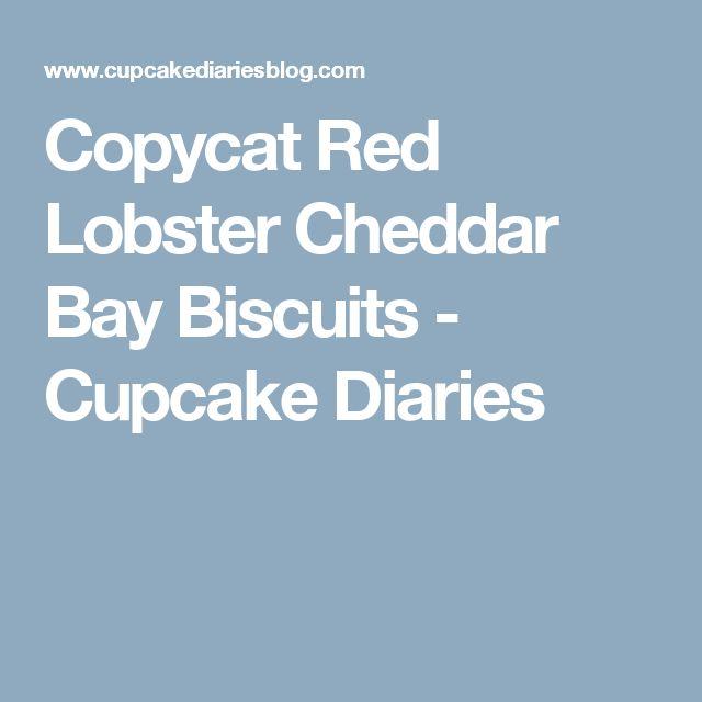 Copycat Red Lobster Cheddar Bay Biscuits - Cupcake Diaries