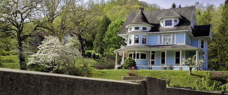 Historic Bramwell mansion, West Virginia
