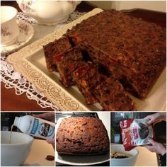 3 Ingredient Fruit Cake - the best and easiest version - prize winning, blue ribbon CWA recipe