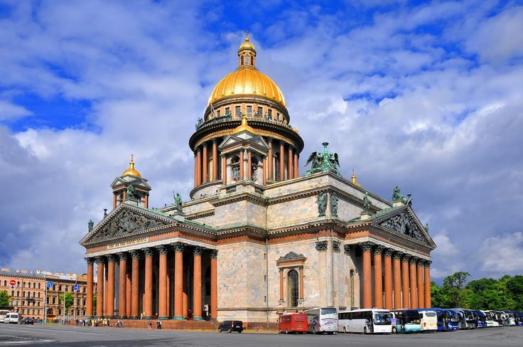 Petersburg. St. Isaac's Cathedral.