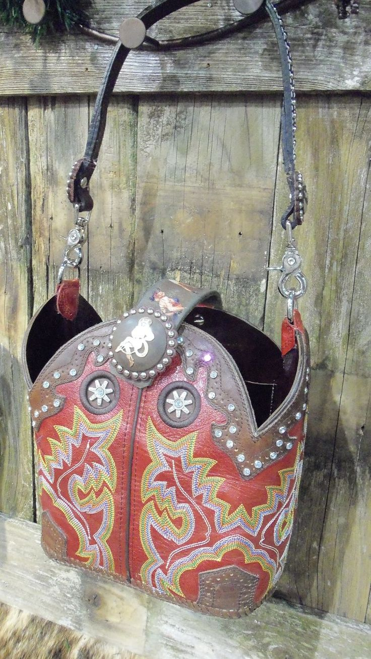 Cowboy Boot Purses! You can take the tops of your cowboy boots and have these ppl make a purse for you. Or, here are instructions for DIY: http://www.hgtv.com/handmade/how-to-make-a-cowboy-boot-purse/index.html