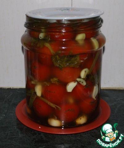 Квашеные помидоры за 3 дня