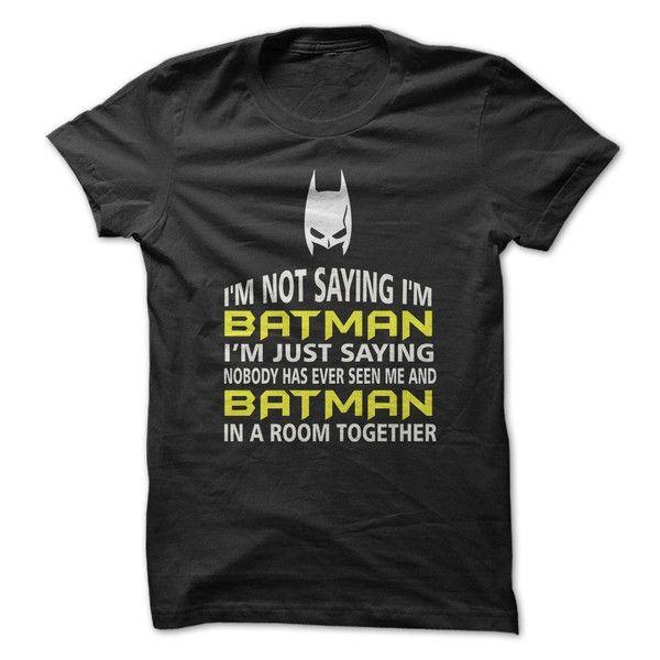 I'm Not Saying I'm Batman - 1