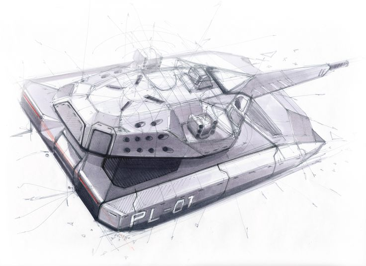 "PL-01 CONCEPT  ""STEALTH TANK"" - DIRECT SUPPORT VEHICLE FOR OBRUM (PGZ SA) design by SOKKA"