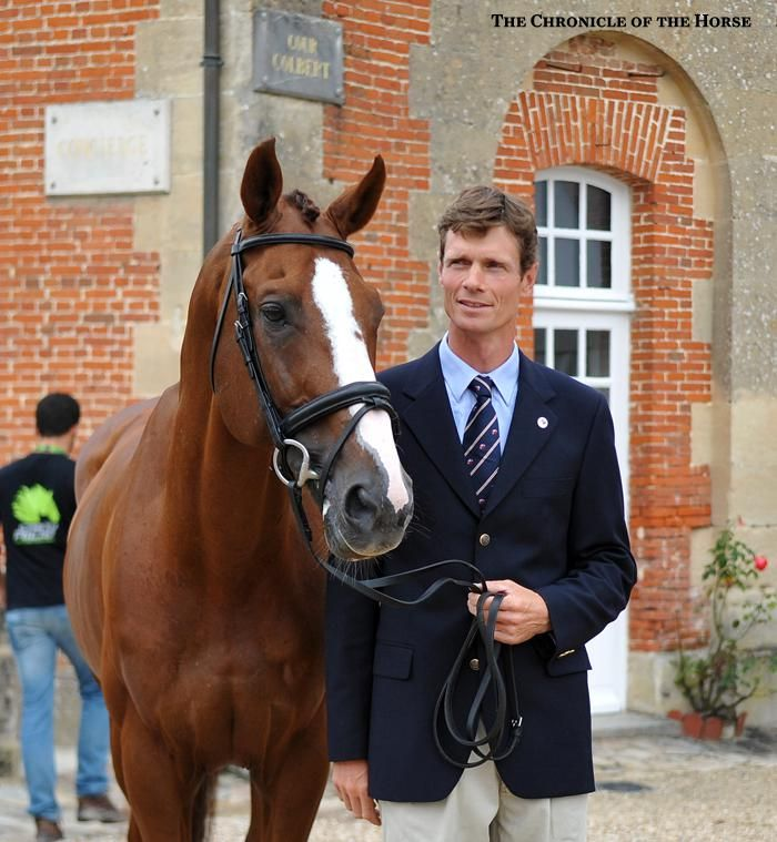 Great Britain's William Fox-Pitt will be a hot favorite with Chilli Morning. Photos & Video | The Chronicle of the Horse