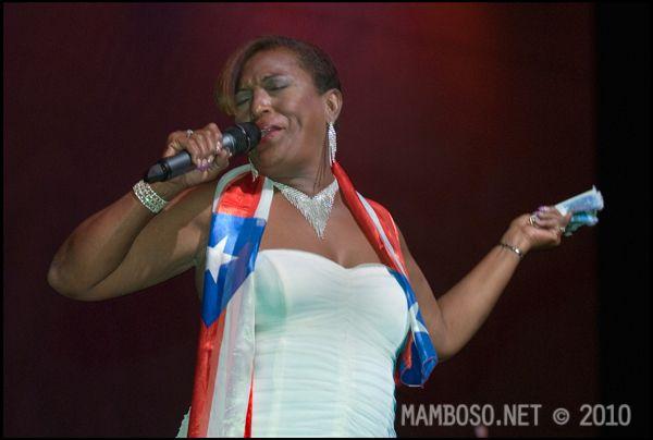 Yolanda Rivera Sonora Poncena | YOLANDA RIVERA of La Sonora Ponceña fame @ LEGENDS OF SALSA 3 ...