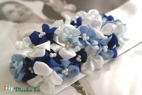 Meska - Kékike menyasszonyi öv Aggies kézművestől
