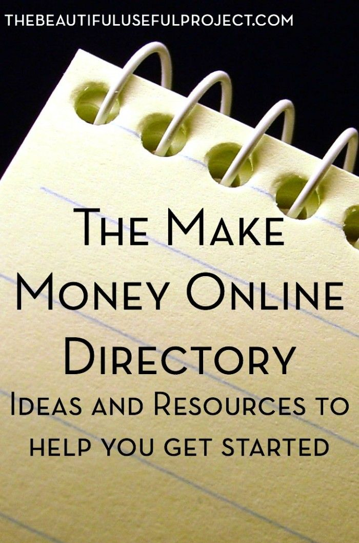 Want to make easy money from home? Check out the Make Money Online Directory to find all kinds of income earning ideas you can do from your computer.