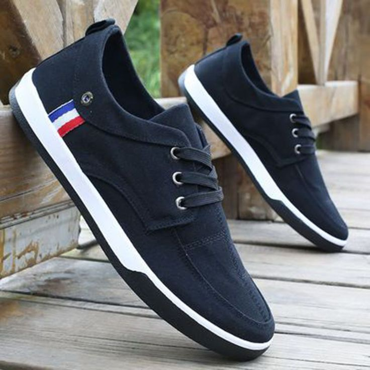 >> Click to Buy << Denim Jean Shoes For Men 2017 Summer Casual Plimsoll Canvas Shoes Men Lace Up Jogging Shoe Walking Zapatos Verano Hombre T030701 #Affiliate