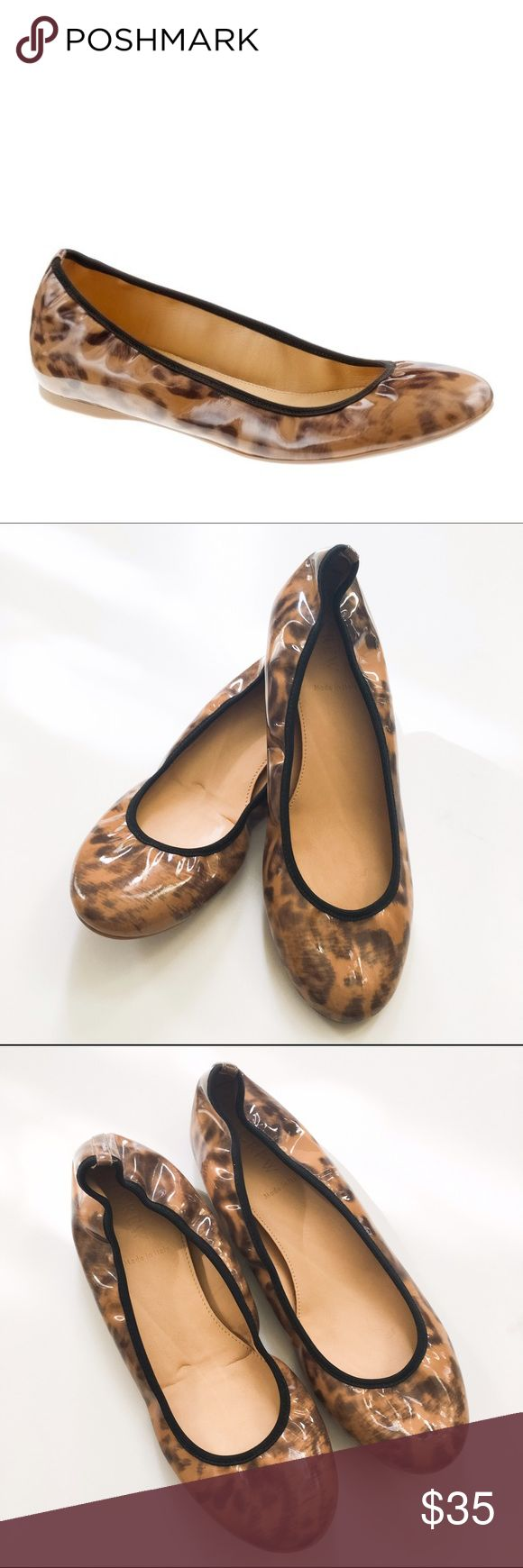 J Crew Lula Leopard Ballet Flats These are gently used J Crew Lula Leopard Ballet Flats. Worn once. Leather upper. In excellent condition. J. Crew Shoes Flats & Loafers