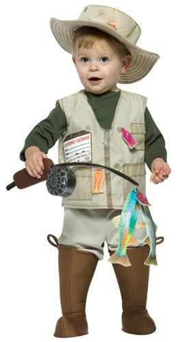 1000 ideas about fisherman costume on pinterest for Baby fishing pole
