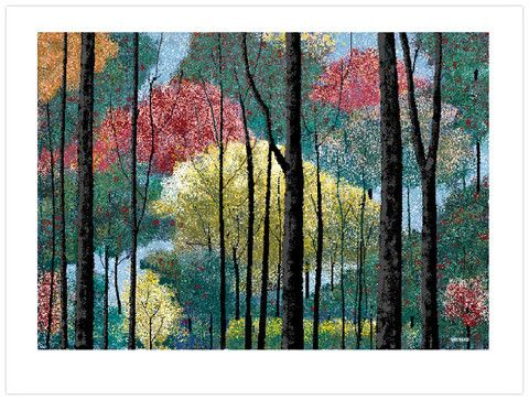Can you believe this painting was made entirely in Microsoft paint- stitched pixel by pixel by a 97 year old, legally blind man! Talk about 'Art that Inspires'!