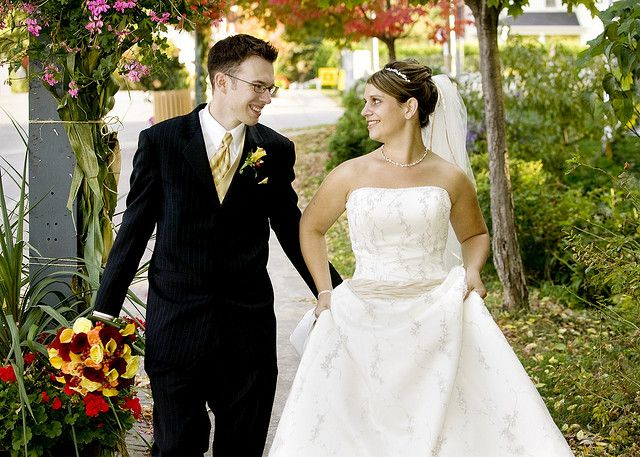 Spring is the best season to get married. There are lots of things here that weather is just perfect not too cool not too hot. The flowers are full bloom and outdoor locations are their best. People want to use their gardens or make use of parks . Spring is the best for both bridal as well as groom.