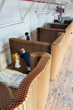corrugated spaces