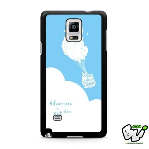 Adventure Is Out There Balloon Samsung Galaxy Note 4 Case