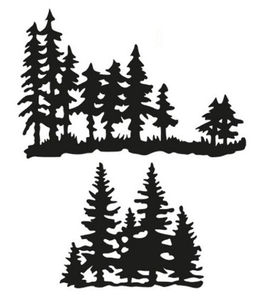 Marianne - Craftables Die - Tiny's Pine Trees