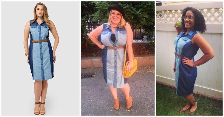 @MYNT1792 Haley Chambray Dress from #gwynniebee