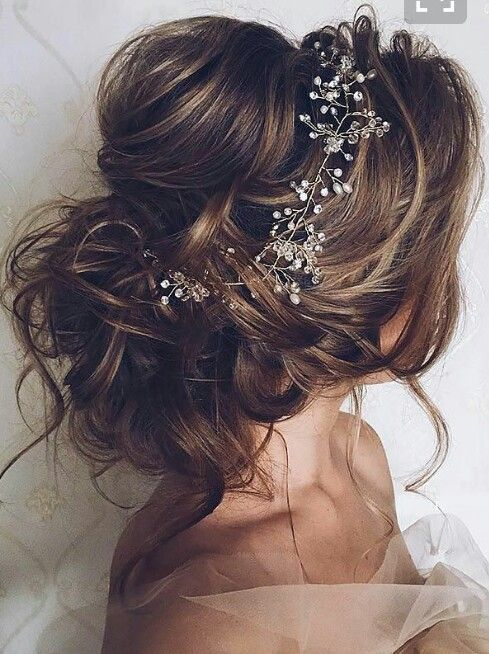 gorgeous simple updo perfect for a wedding or special occasion or event