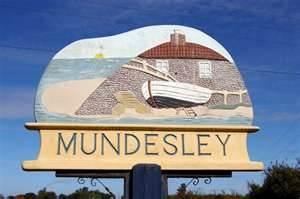 Mundesley Sign, Norfolk