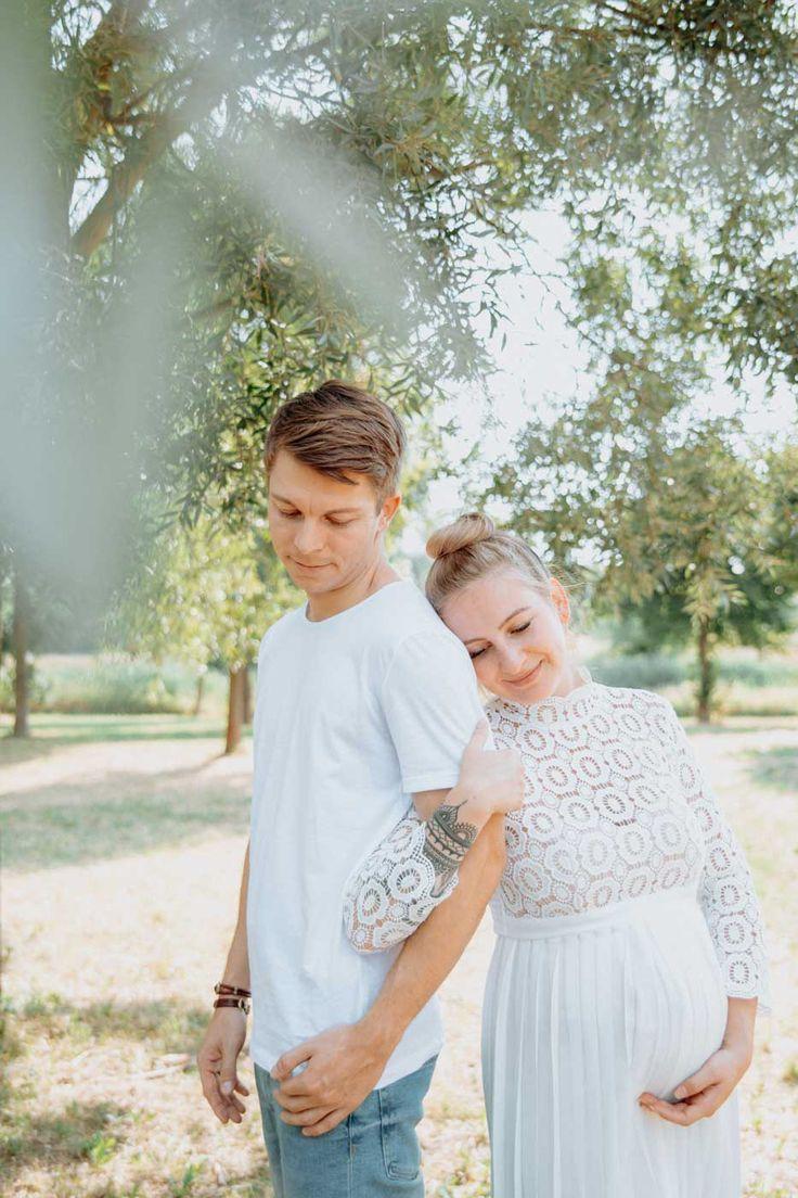 Paarfotografie mit Babybauch – Hochzeitsfotografie Anne Krämer Leipzig