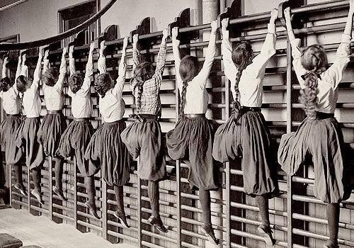 By Frances Benjamin Johnston Victorian Women In The Gym