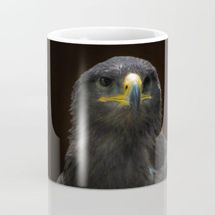 Steppe Eagle Mug by Mixed Imagery | Society6