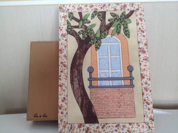 Caixa Grande Árvore/janela | Ra & Ro Patchwork | 29C089 - Elo7