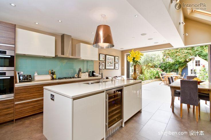 European Style Kitchen Design Ideas · Kitchen DesignsKitchen IdeasOpen Plan  ...