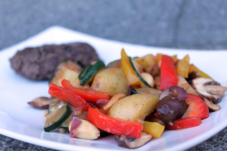 Grøntsager i sursødsovs