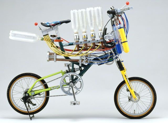 Rocketumblr   宿野輪天堂 ジェットエンジン自転車、水噴射自転車、風力発電電動自転車、蒸気自転車