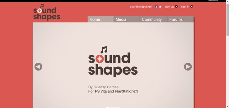 Home - Sound Shapes game for PS3 and PS vita. Educational game #HomeEducation #HomeSchool