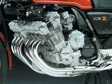 Honda Cbx 1000  engine.Add a giant oil cooler, and these engines give 100,000 kms easily.Then take out a mortgage to overhaul them.