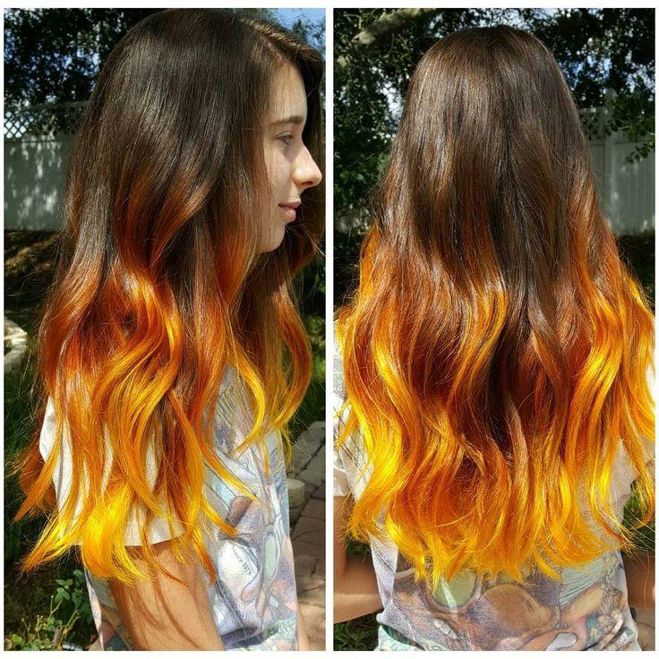 The 25 Best Ideas About Burnt Orange Hair Color On Pinterest  Burnt Hair O