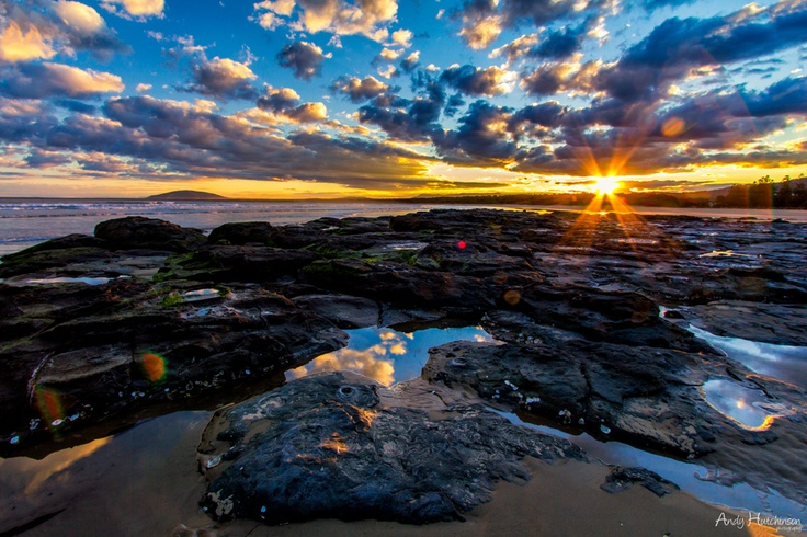 Sunset in South Coast NSW.