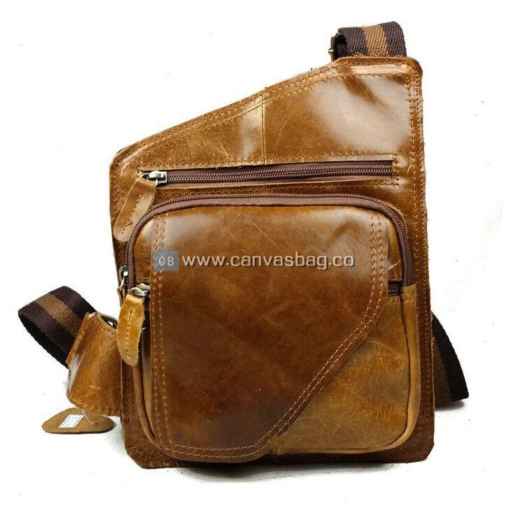 Backpack Sling Bag Leather Sling Backpack