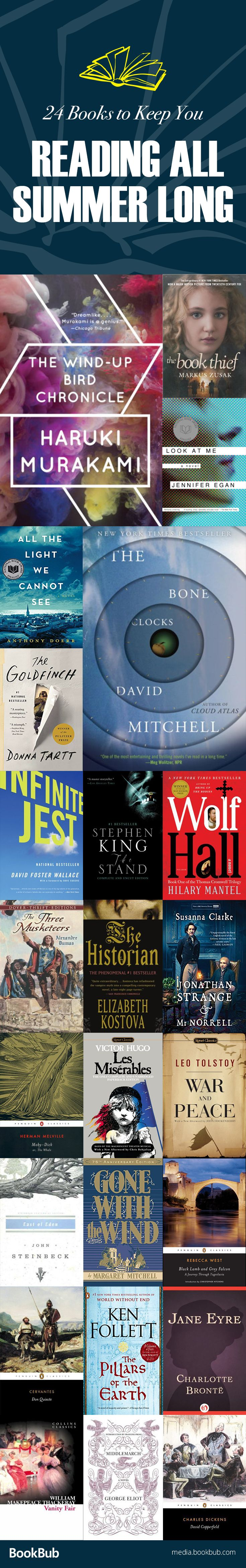 24 Books To Savor This Summer