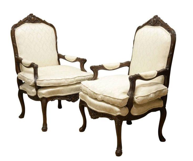 barokk karfás székek, antike Möbel