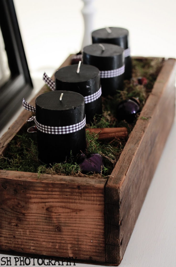 Black & Gingham. - This is so beautiful! - casual look or on a simple base very modern and clean
