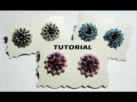 "DIY Video Tutorial Earrings ""Point of Light"" swarovski beads (Italian)"