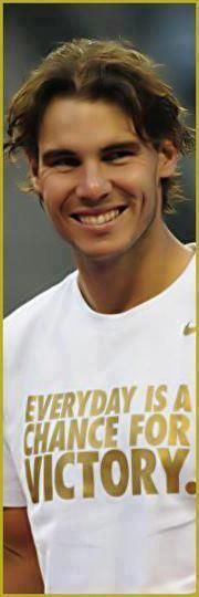 A Smile OF A Champion <3